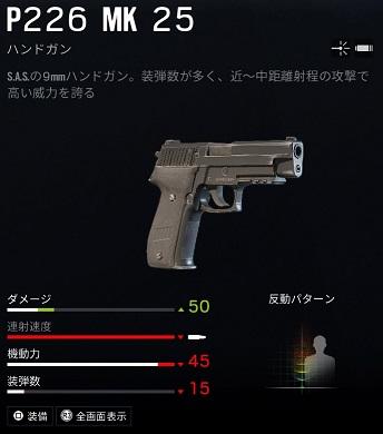 スレッジP226 MK 25