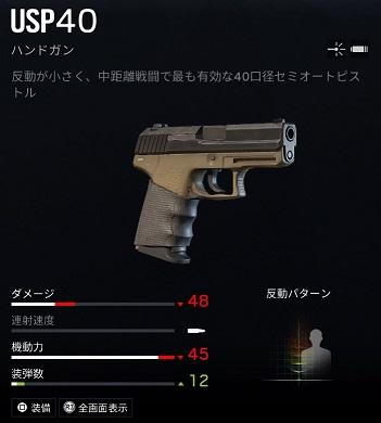 ジャッカルUSP40