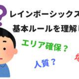 【レインボーシックスシージ】初心者用基本ルールの解説【R6S】