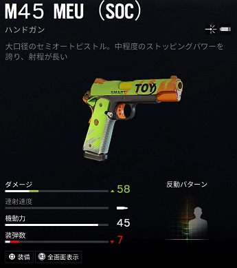 テルミットM45 MEU (SOC)