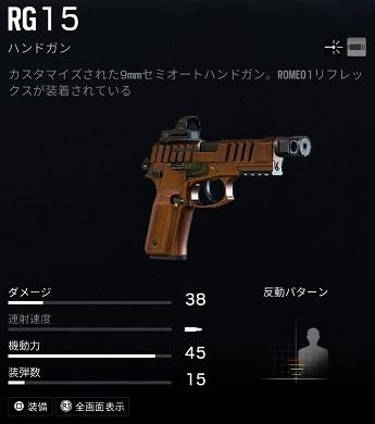 ゾフィアRG15