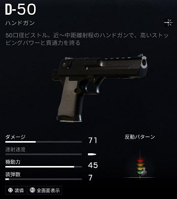 ブラックビアードD-50