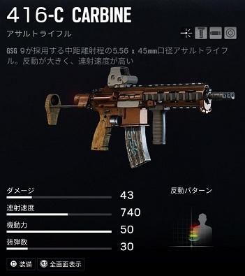 イェーガー416-C CARBINE