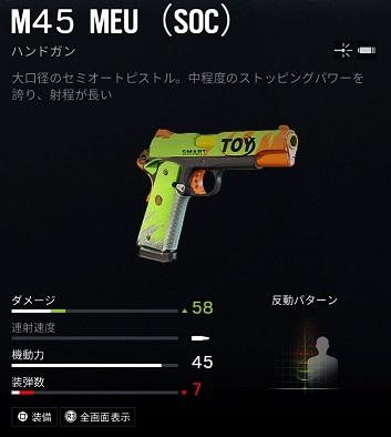 アッシュM45 MEU (SOC)