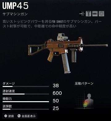 パルスUMP45