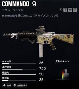 r6s COMMANDO 9